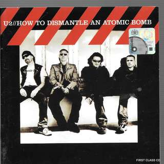 MY PRELOVED CD -U2 -HOW TO DISMANTLEAN ATOMIC BOMBE /FREE DELIVERY (F3Q))