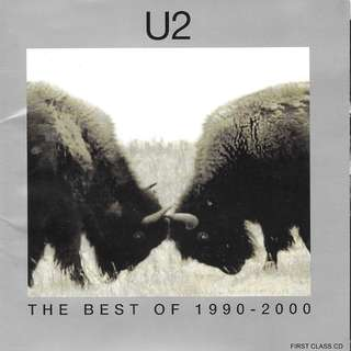 MY PRELOVED CD - U2 THE BEST OF 1990 TO 2000- //FREE DELIVERY (F3Q)