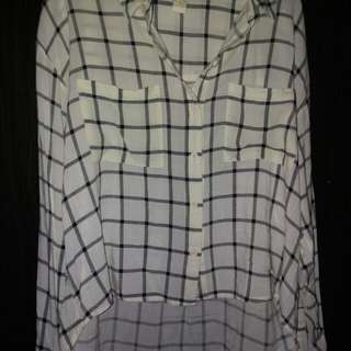 Checkered Long Sleeved