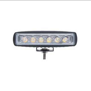 Fog light with switch