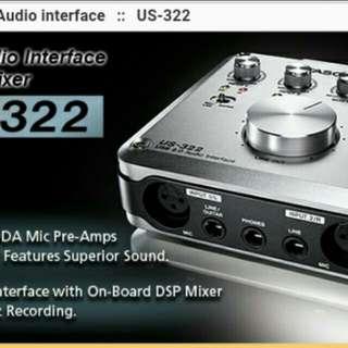 Tascam 322 audio interface