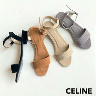 Suede Flats (1inch)