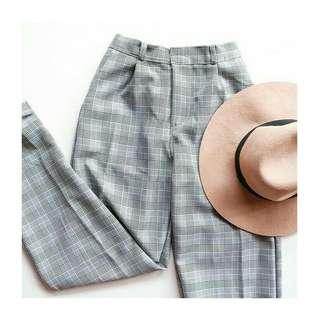Tartan pants B3RSHKA GREY