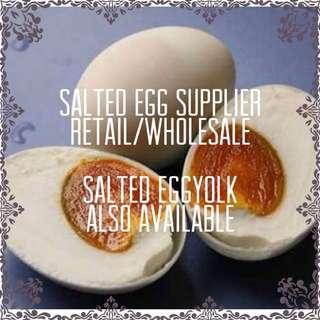Salted egg and salted eggyolk supplier