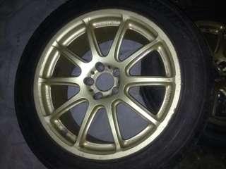 """Toyota 🇯🇵Japanmade -Original Prodrive GC10e 17"""" rim"""