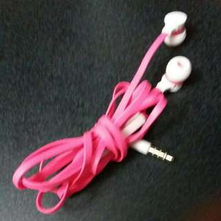 Pink earpiece