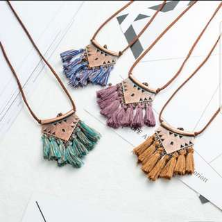 Bohemian Necklace preorder