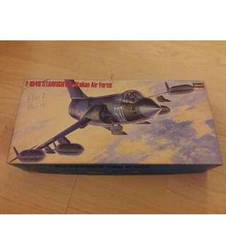Hasegawa F-104S/F-104G Starfighter (Italian Air Force Fighter / Luftwaffe Fighter Bomber) 1/72