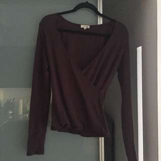 Wilfred Free wrap top