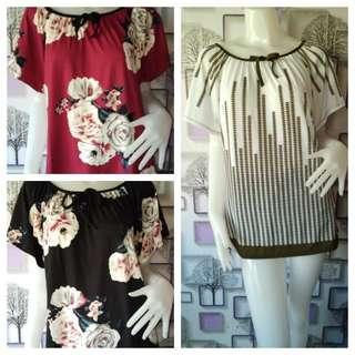 Pluus size trendy blouse