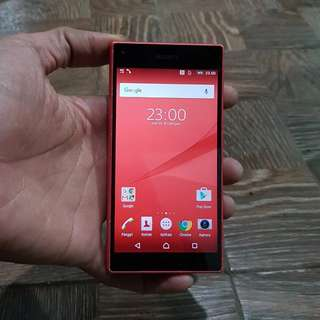 Sony Experia Z5 compact Red 4G LTE mulus no minus