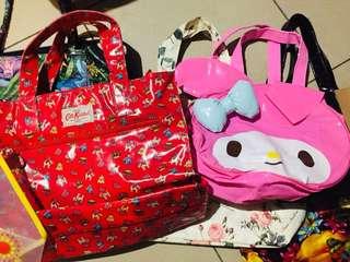 TAKE ALL 8 Bags