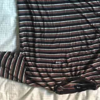 Small Striped Stussy Shirt Perfect Condition
