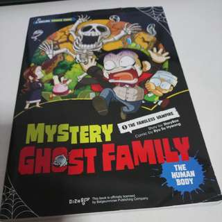 Mystery Ghost Family Science Comic