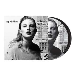 "Taylor Swift Reputation Vinyl 12"" Album"