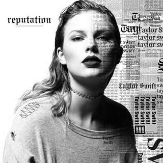Taylor Swift Reputation CD Album