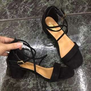 Korean Block Sandals open toe