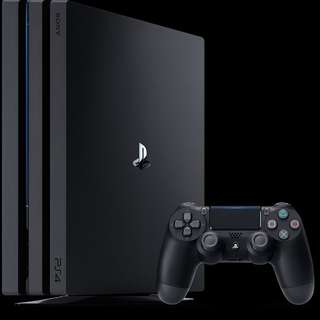 (New - Exploitable) PlayStation Pro 1TB Console