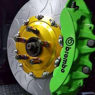 Nissan GTR R35 380mm Brake Rotors Brand New