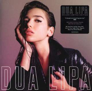 Dua Lipa Deluxe Edition CD
