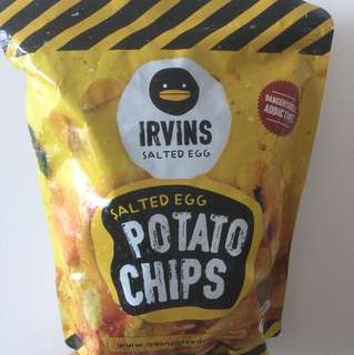 Irvine Salted Egg chips 大包230g