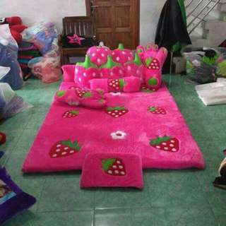 Karpet Set Kakter