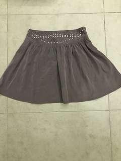 Brand New BYSI Studded Skirt