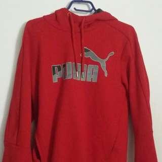 Red Puma hoodie