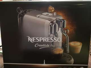 Brand New Nespresso Creatista Plus