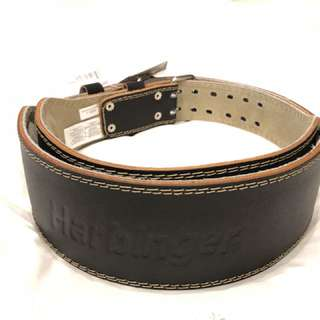 "Harbinger 4"" leather belt"
