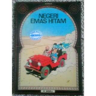 Komik Kisah Petualangan Tintin - Negeri Emas Hitam