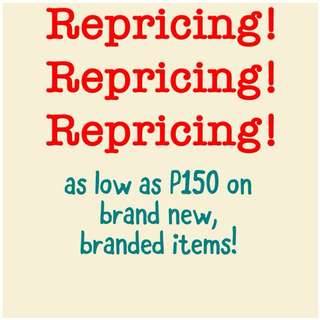 For as low as P150 on dresses!