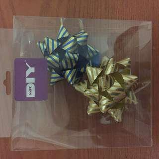 BN gift ribbon / bow x2