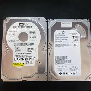 Hard Drives 300GB and 160GB