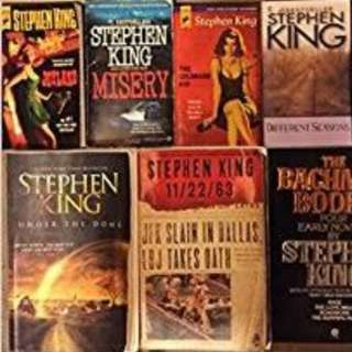 80+ STEPHEN KING EBOOKS