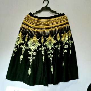 Indian inspired skirt