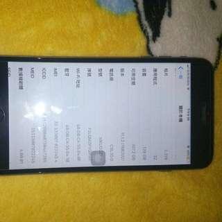IPhone 6s Plus 128 g 90% new冇單 及 保养 不議價