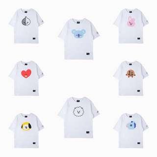 Bt21 basic tshirt bts line kpop