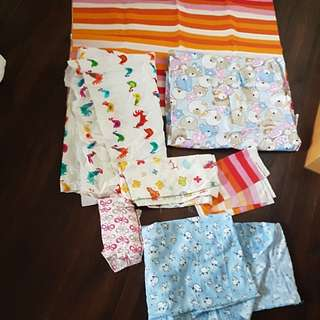 Textiles fabric (bit & pieces)