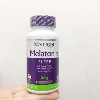 Ready stock Melatonin 5mg extra strength