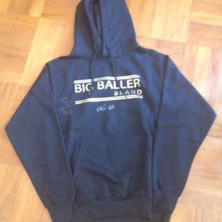 BBB Big baller brand hoodiesigned lavar ball, lamelo ball