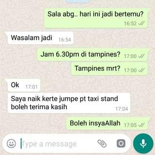 Custome Feedback/ Customer Purchase/ Alhamdulilah