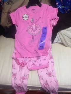 4 piece pj set