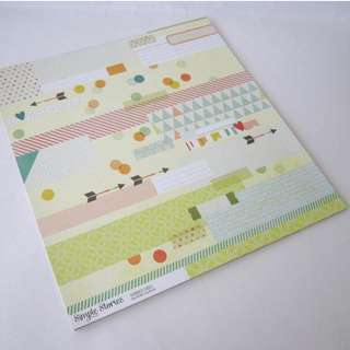 16 sheets Scrapbook Paper