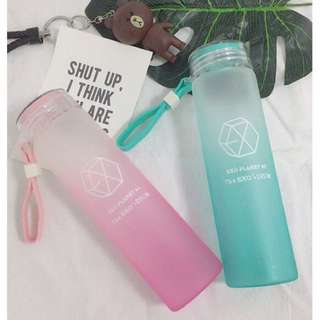 BTS MONSTA X EXO SEVENTEEN Water Bottle