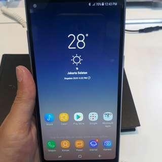 Samsung a8+ kredit tnpa cc