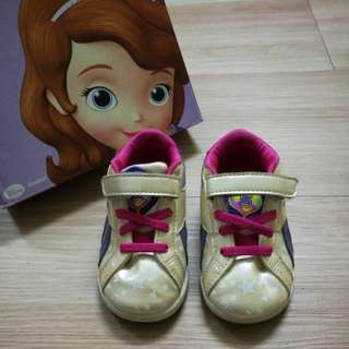 🔖 Preloved Reebok Sofia The First Shoes Infants US5