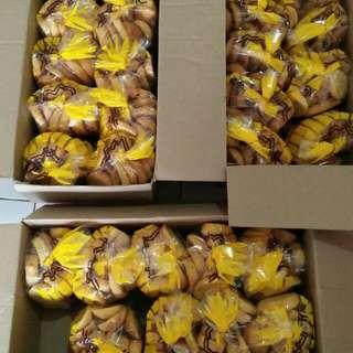 Bagelen roti kering Bandung