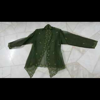 Antique Green Kebaya