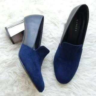 Vinci loafer blue suede